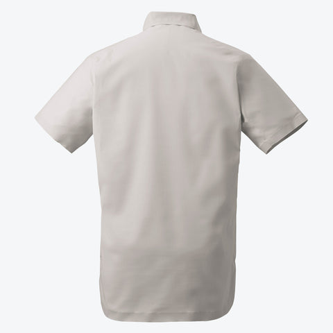 ",""alt"":""Men's ALLTERRAIN Seamless Stretch Button Down Shirt Off Model Back View in White Ecru"""
