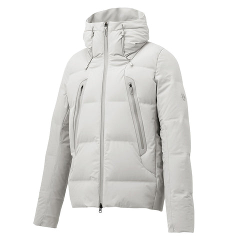 "{""color"":""Planetary White"",""alt"":""Men's ALLTERRAIN Mountaineer Mizusawa Down Jacket by Descente""}"