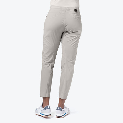 "{""caption"":""Model is 5'8\"", Size Small"",""color"":""White Ecru"",""alt"":""Women's ALLTERRAIN BOA Pants, Back View On Model""}"