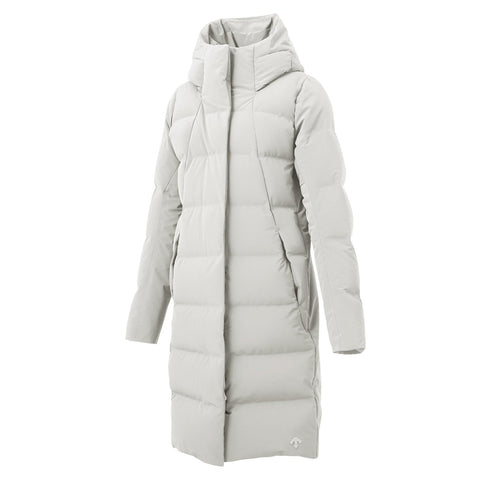 "{""color"":""Planetary White"",""alt"":""Women's ALLTERRAIN Element-HC Mizusawa Down Jacket by Descente""}"