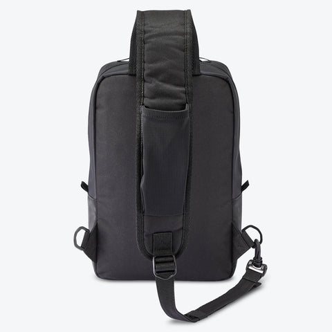 "{""color"":""Black"",""alt"":""Functional Sling Bag Front View in Black""}"