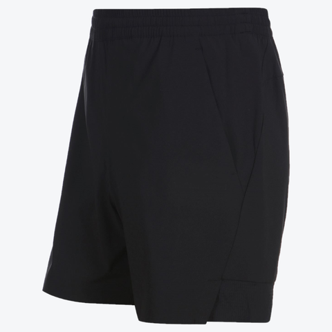 "{""color"":""Black"",""alt"":""Athletic Training Shorts Off Model in Black Side View""}"