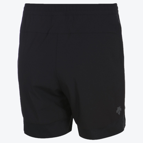 "{""color"":""Black"",""alt"":""Athletic Training Shorts Off Model in Black Back View""}"