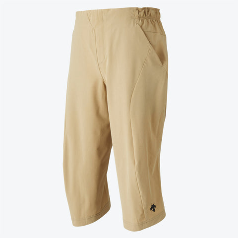 "{""color"":""Beige""} Cropped Commuter Pants in Beige"