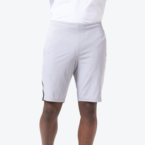 "{""caption"":""Model is 6'0\"", 31\"" Waist, Size Medium"",""color"":""Gray"",""alt"":""Men's OT Shorts shown on-model from the front in gray""}"