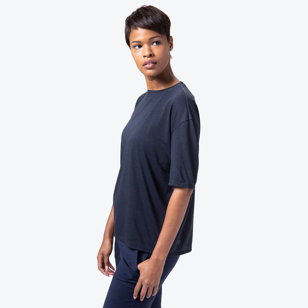 Manerd Wool Soft Touch Relaxed Fit Tee