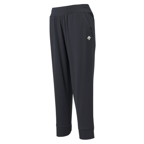"{""color"":""Black"",""alt"":""Women's Soft Stretch Joggers Shown Off-Model from the front""}"