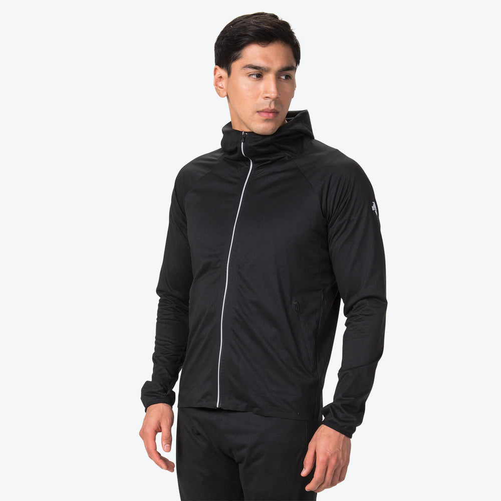 WIND PROTEX KNIT HOODIE JACKET (FINAL SALE)