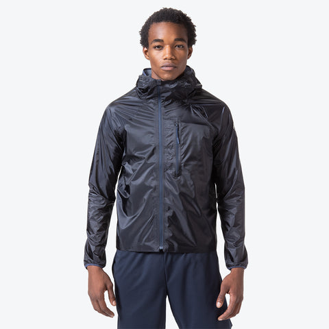 "{""caption"":""Model is 6'0\"", 32\"" Waist, Size Medium"",""color"":""Graphite Navy"",""alt"":""Men's Packable Cycling Vest"",""alt"":""Men's Packable Rain Jacket in Graphite Navy shown on model from the front""}"