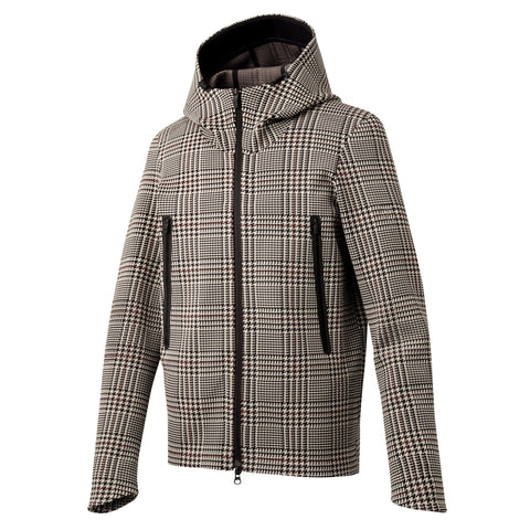 "Todd Snyder x Descente | SYNCHKNIT Jacket ""Climate"" in Glen Plaid"