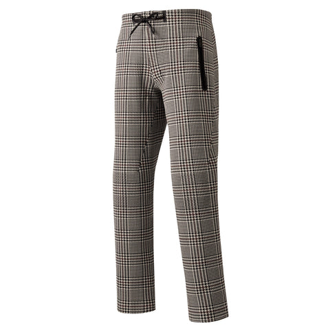 "Todd Snyder x Descente | SYNCHKNIT Pants ""Cloud"" in Glen Plaid"
