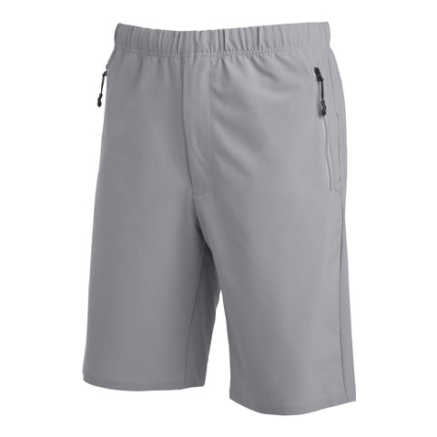 "{""color"":""Fog Gray"",""alt"":""DSPTCH x Descente Packable Shorts for Travel and Hiking""}"