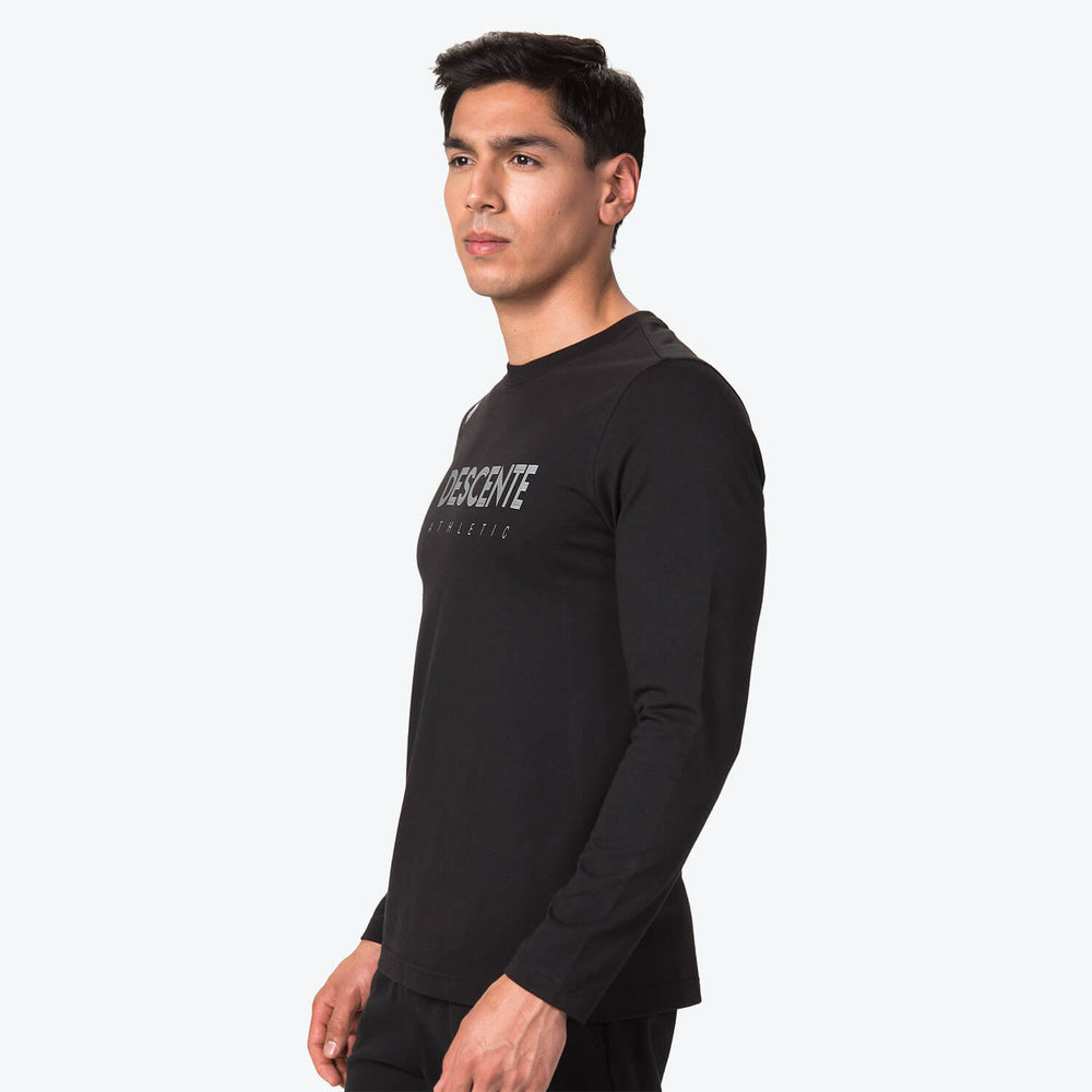 BASIC LONG SLEEVE LOGO T-SHIRT