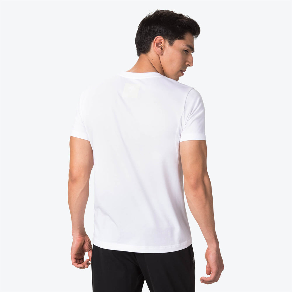 QUICK DRY V-NECK BASIC T-SHIRT