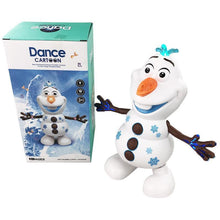 Load image into Gallery viewer, Electric Dancing Music Snowman Toy Princess Dance Toy