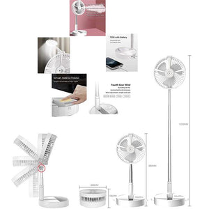 (Summer Promotion)Multi-function Wireless Rechargeable Fan