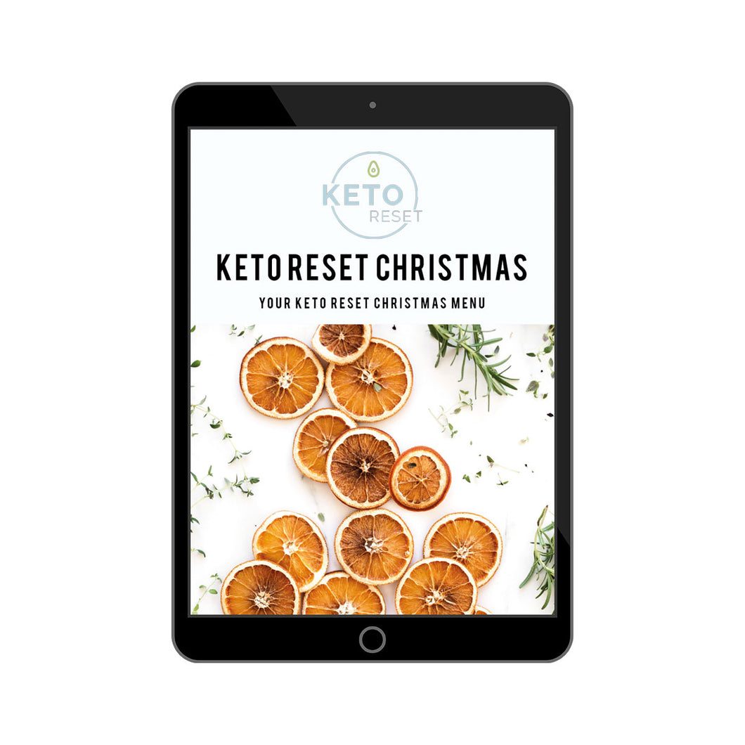 Christmas Keto Reset Menu