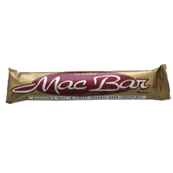 MacBar Organic Dark Chocolate Macadamia Bar