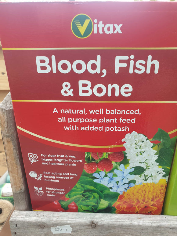 Blood, Fish and Bone plant feed