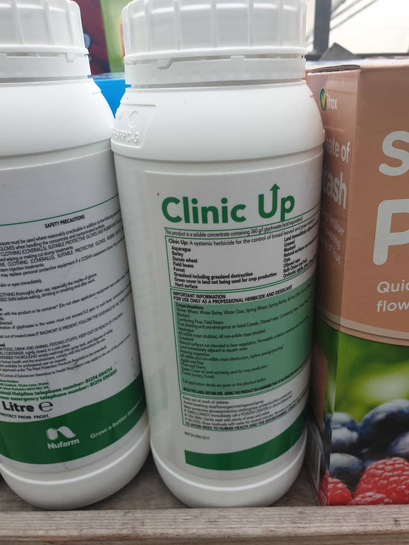 Clinic up (heavy duty weed killer)