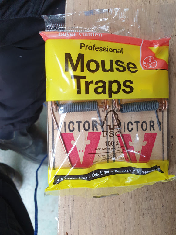Mouse Traps (two pack)