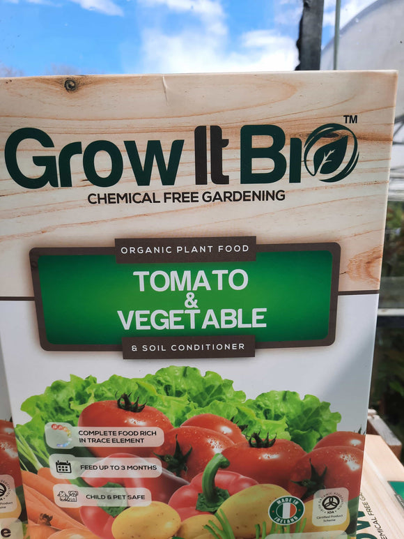 GrowItBio (vegetable and tomato)