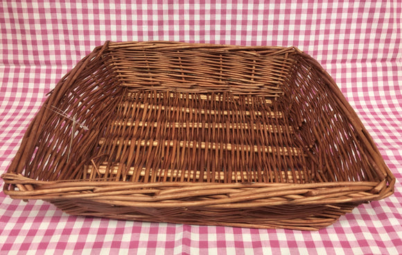 Basket (Brown Rectangular)