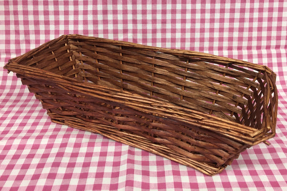 Basket (Rectangular  Brown)