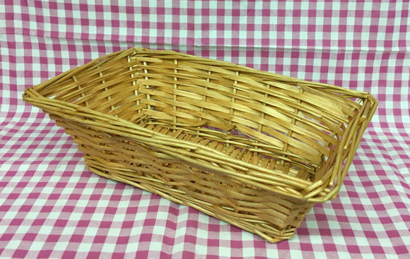 Basket (Rectangular Golden)