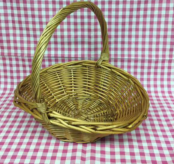 Basket (Round Golden)