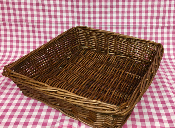 Basket (Square Mahogany)