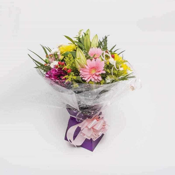 <p>A fantastic blend of the freshest seasonial blooms guaranteed to brighten up everyone's day! We expertly hand-tie the freshest of blooms and wrap them in season wrapping before placing them in a presentation box.</p><p>A gorgeous gift for all occasions!</p>