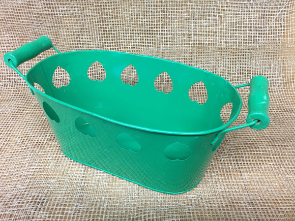 Bucket (Green Hearts Small)