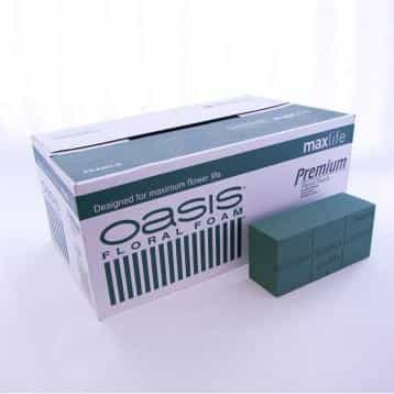 Box of Genuine Oasis Floral Foam