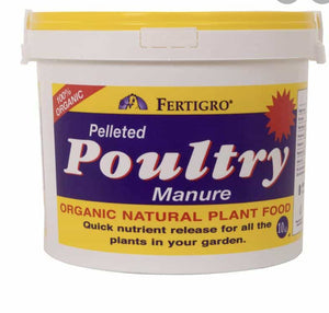Poultry Manure 10kg Bucket