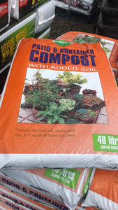 Patio and Container Compost and Soil Blend