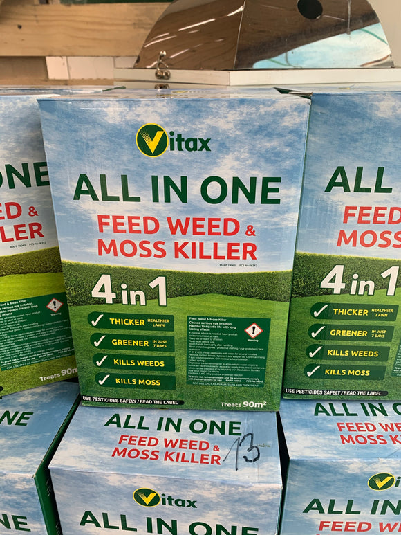 All in one Feed, Weed & Mosskiller