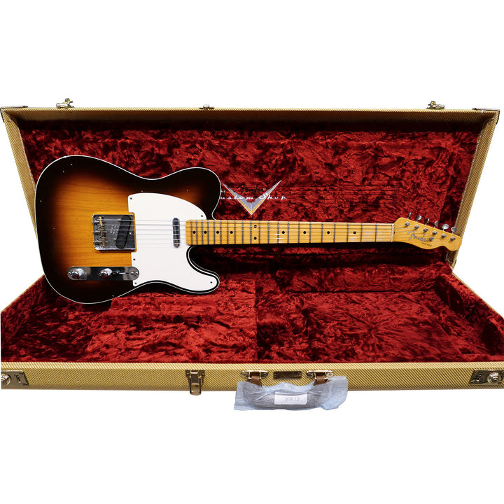 Limited Edition '50s Telecaster Custom - Wide Fade Chocolate Sunburst, Journeyman Relic