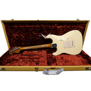 Back shot of Limited Edition 1956 Roasted Stratocaster - Aged White, Relic