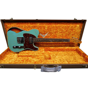 Limited Edition '60s HS Telecaster Custom Heavy Relic - Aged Seafoam Green Over Sunburst
