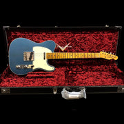NAMM Limited Postmodern Telecaster - Aged Lake Placid Blue With Natural Back - Journeyman Relic