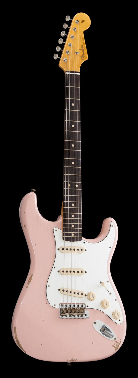 Fender Custom Shop Exclusive 1963 Stratocaster - Shell Pink, Relic