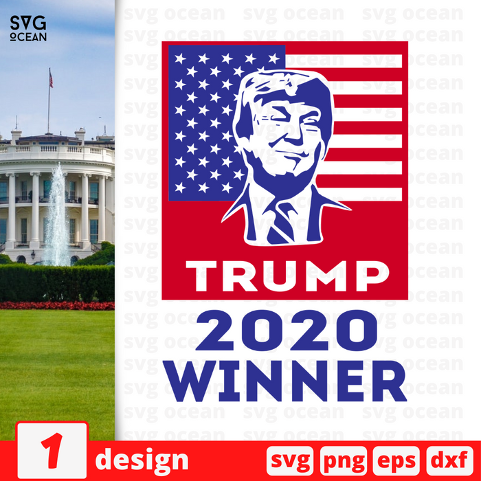 Trump 2020 Winner SVG vector bundle - Svg Ocean