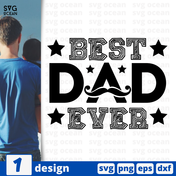 Best dad ever SVG bundle - Svg Ocean