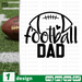 Football dad SVG vector bundle - Svg Ocean
