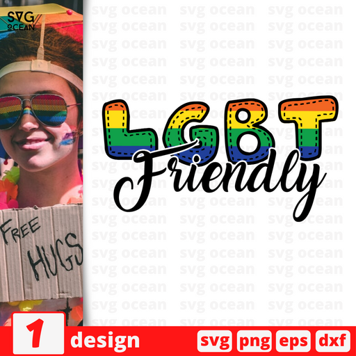 LGBT friendly SVG vector bundle - Svg Ocean