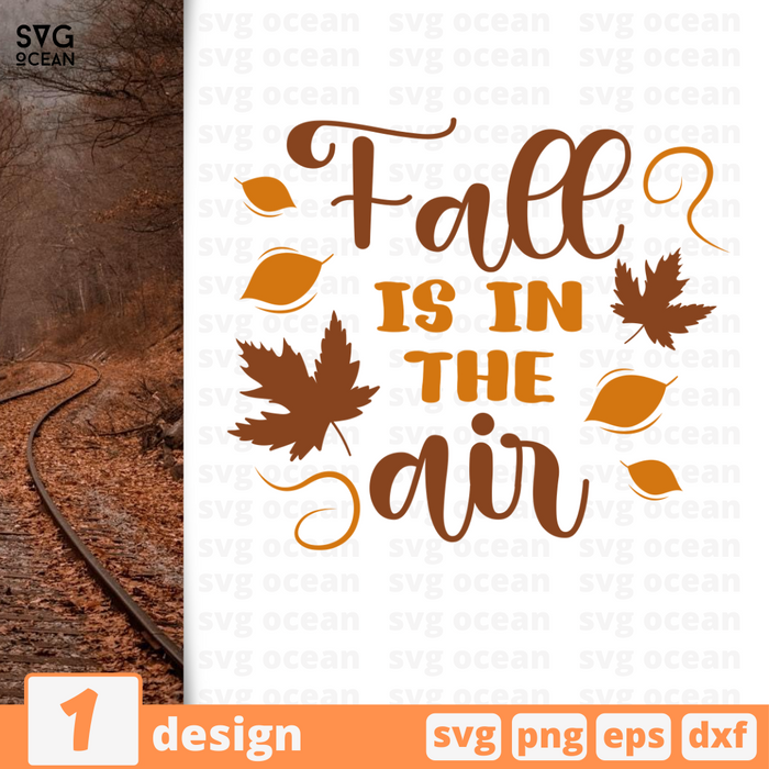 Fall is in the air SVG vector bundle - Svg Ocean