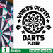 World's okayest Darts player SVG vector bundle - Svg Ocean