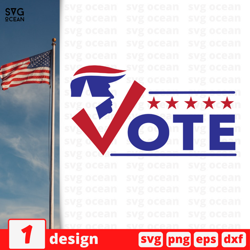 Vote SVG vector bundle - Svg Ocean