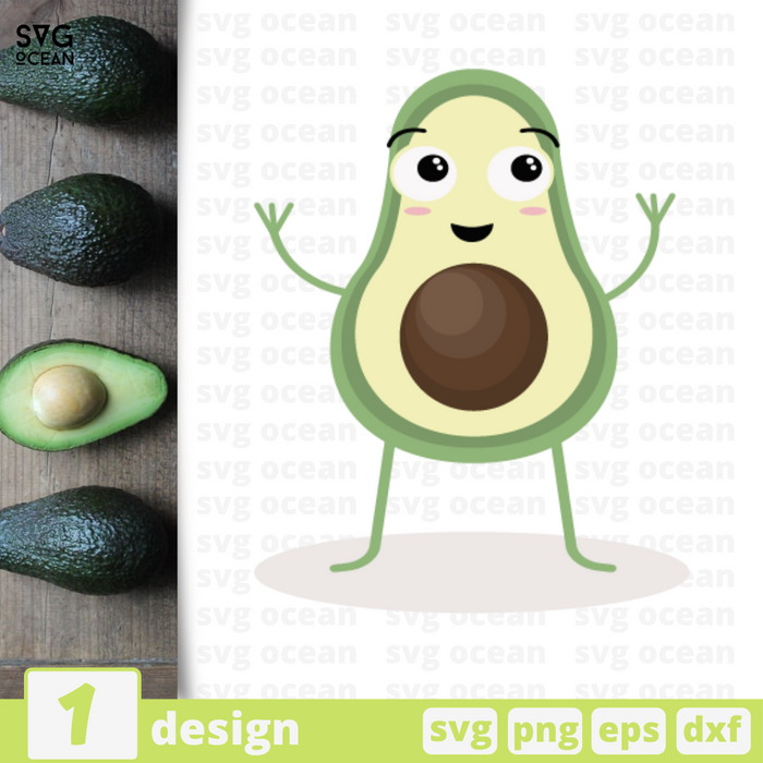 Avocado SVG files for cricut - Svg Ocean